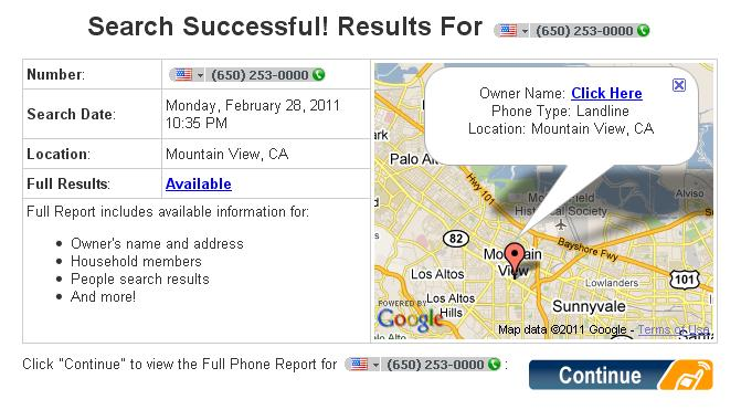 Reverse phone directory lookup phone numbers share the knownledge