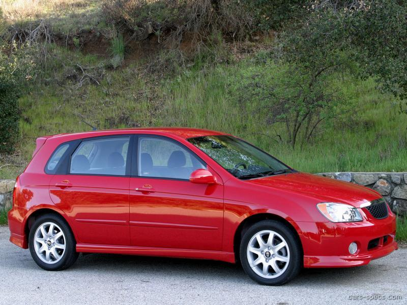2004 kia spectra hatchback specifications pictures prices. Black Bedroom Furniture Sets. Home Design Ideas