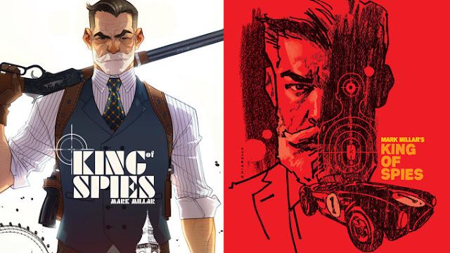 ✅ Mark Millar regresa al mundo de los espías con la novela gráfica 'King of Spies' para Netflix