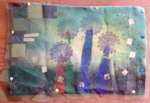 MixedMedia Textil Art