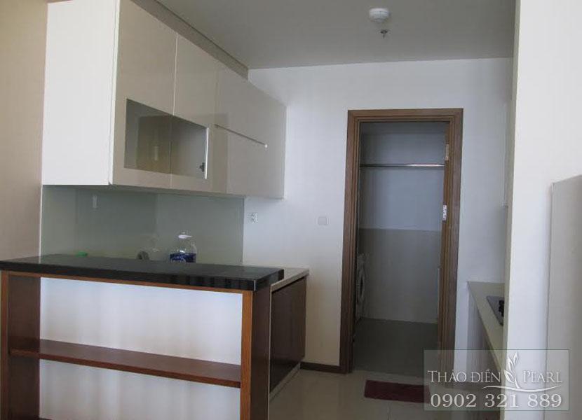 khu vực bếp tại giá cho thuê căn hộ Thảo Điền Pearl