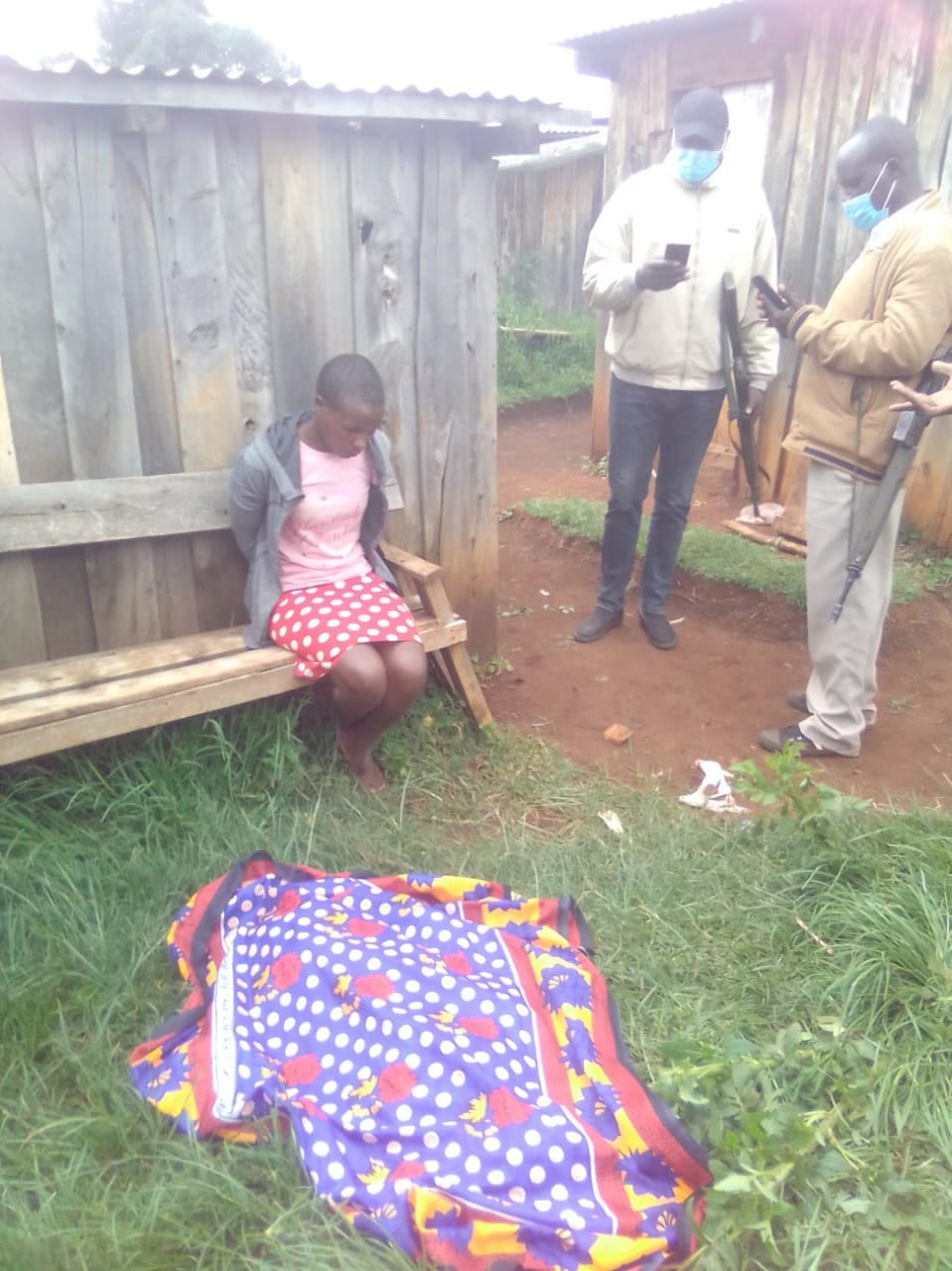 So Sad! Woman allegedly kills her 4-year-old daughter, dumps body in pit latrine (graphic photos)