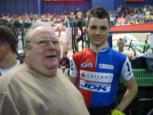 Leon en Steve Schets, onze Gooikse trots in het Kuipke.