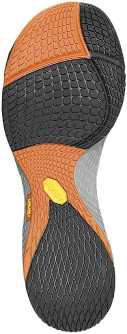Merrell Road Glove 2 incorrect outsole verticle