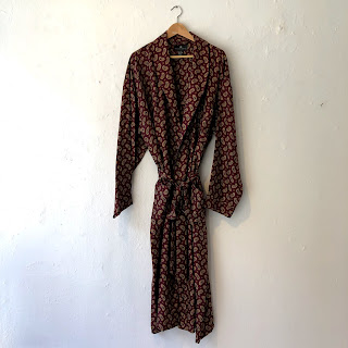 Saks Fifth Avenue Silk Robe