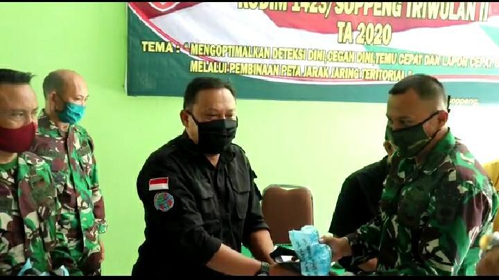 Dandim 1423 Soppeng: TNI dan Wartawan Bangun Sinergitas
