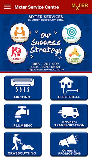 Mxter Maintenance Service Centre Sabah 1.0 screenshots 1