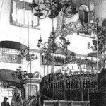EL-103- Iнтер'єр синагоги 'Золота роза' (1582 р.  зруйнована у в 41р.)  Рис.Р.Бернта, 1890 р..jpg