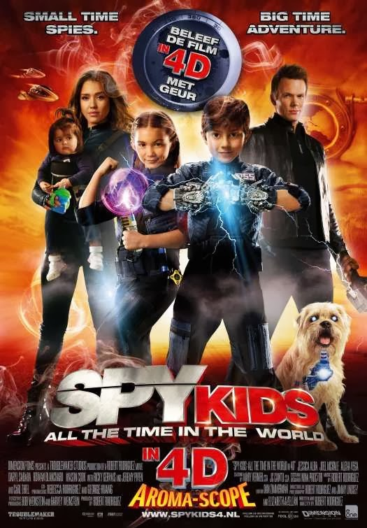Poster Of Spy Kids: All The Time in The World (2011) Full Movie Hindi Dubbed Free Download Watch Online At Alldownloads4u.Com
