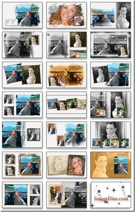 20 Creative Album PSD Wedding Collection Part- 4