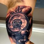 pocket watch - Arm Tattoos Designs