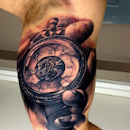 pocket watch - Arm Tattoos Designs