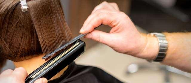 عملية معالجة الشعر السيستين