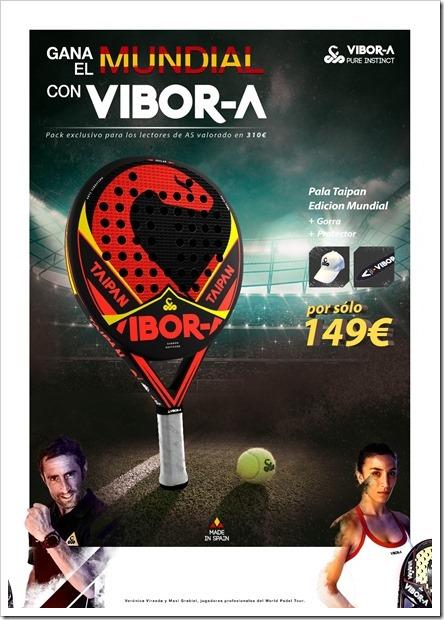 VIBOR-A Taipán Mundial Edition: la pala de España sólo con El Diario AS.