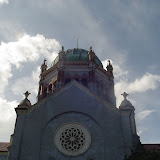A church that Henry Flagler built with copper dome.