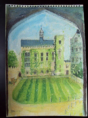 699 View of Pembroke College, Oxford