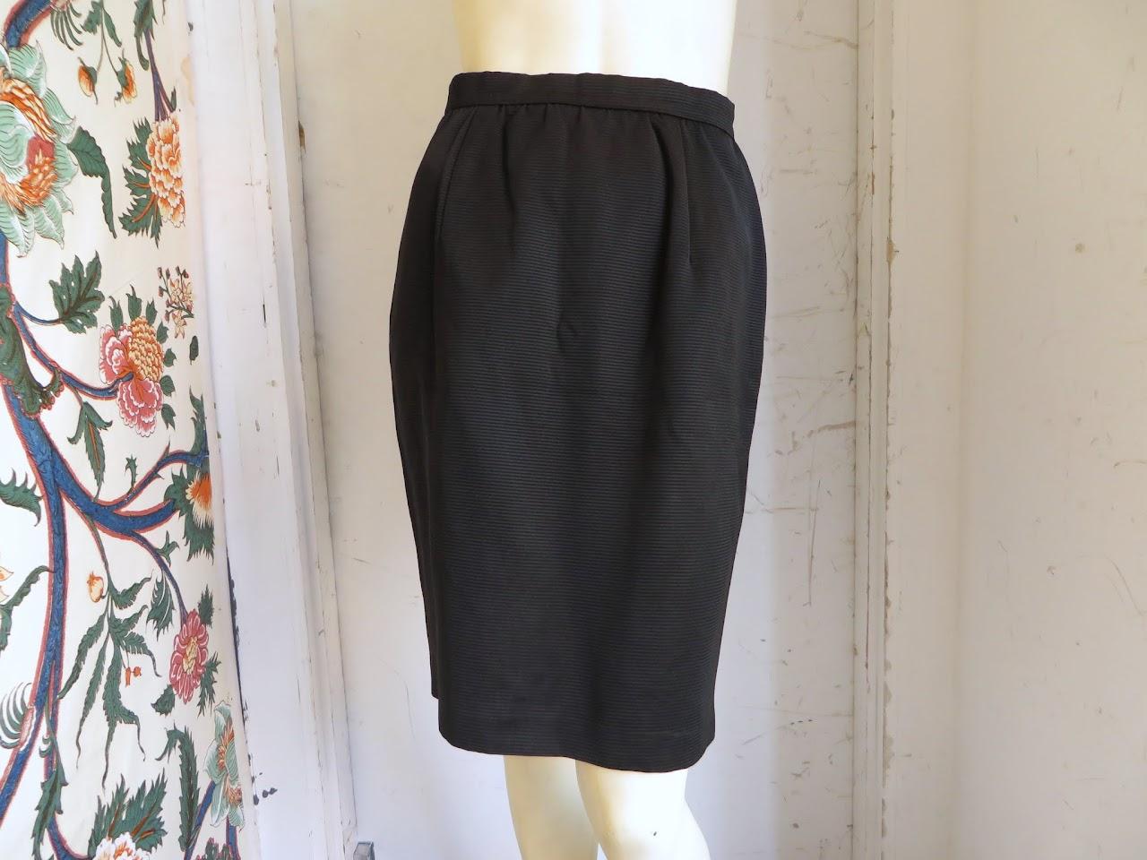 Vintage Valentino Night Skirt