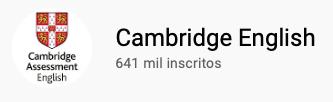 101 canais do YouTube para aprender inglês de graça Cambridge English