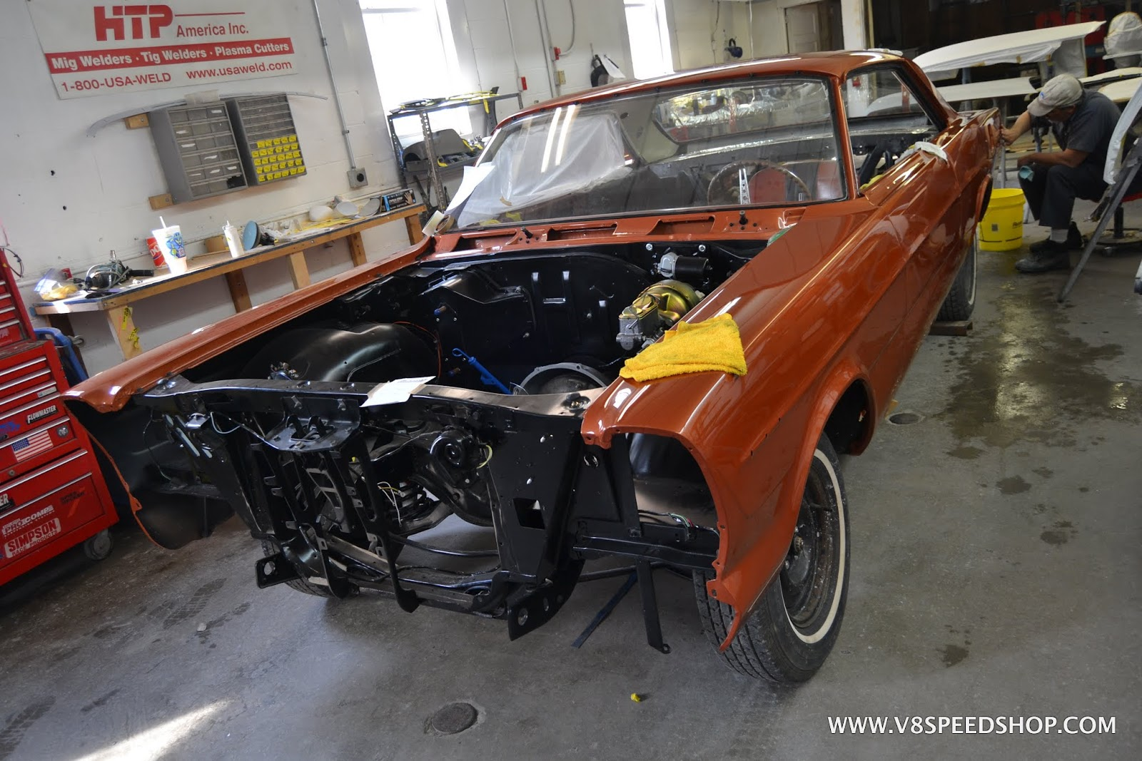 Restoration Project Car Updates In The V8 Speed & Resto Shop
