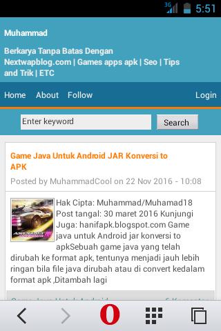 Game Java Untuk Android jar konversi to apk