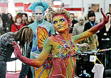 People39s Daily Online    Body art festival