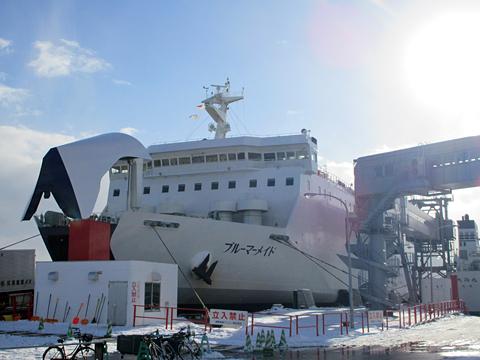 津軽海峡フェリー「ブルーマーメイド」