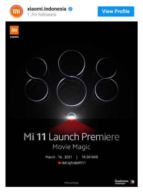 Xiaomi Resmi Umumkan Peluncuran Mi 11 dengan Snapdragon 888, ini Spesifikasi dan Harganya