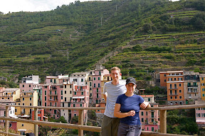 Laura and I in Manarola