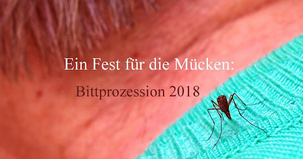 Ein Fest für die Mücken: Bittprozession 2018