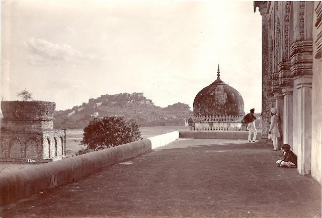 Qutb Shahi Tombs by Lala Deen Dayal (1880s)
