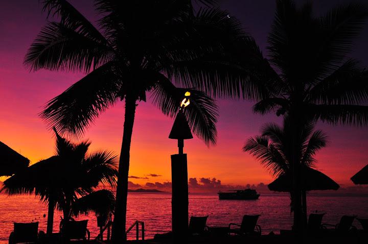 Sunset Denarau Island, Fiji