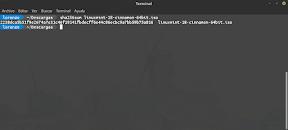 Live usb de linux en linux. SHA256.