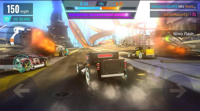 Top 5 New Best Graphical Android Racing Games You Can Download Hot wheels infnite loop