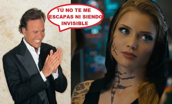 Nada escapa al ojo de Sauron… ¡¡¡ni al de Julio Iglesias!!!