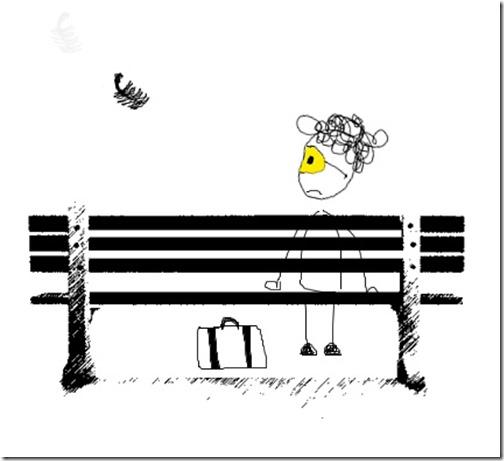 Forrest Gump muere y va al cielo