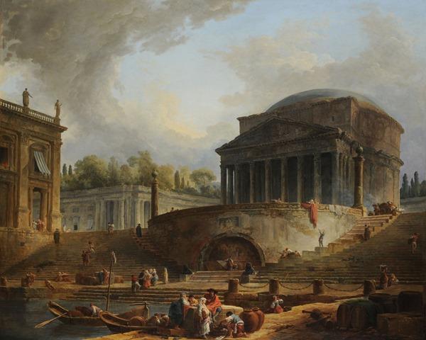 Robert Hubert (1733-1808). Paris, école nationale supérieure des Beaux-Arts (ENSBA). Mra123.