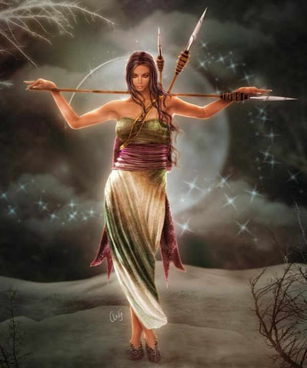 Wiccan Archer, Moon Magic