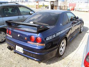 Nissan 400R Skyline Rear