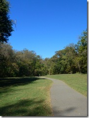 Multi use trail in Tanglewood