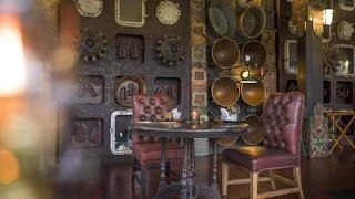 Ruang makan resto capella Ubud
