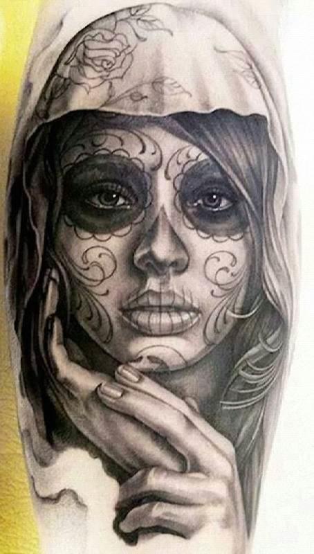 preto_e_cinza_o_dia_dos_mortos_tatuagem