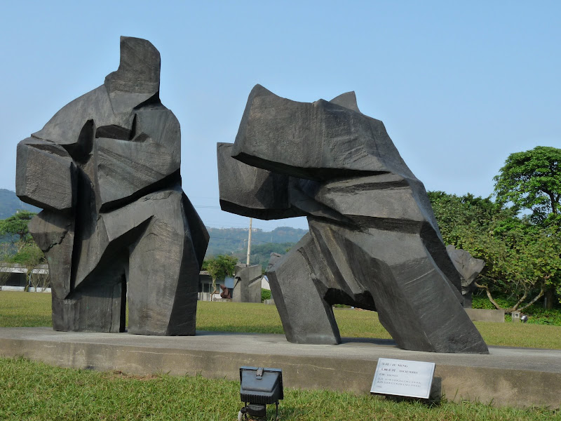 TAIWAN.Musée Jun Ming au nord de Taipei - P1040779.JPG