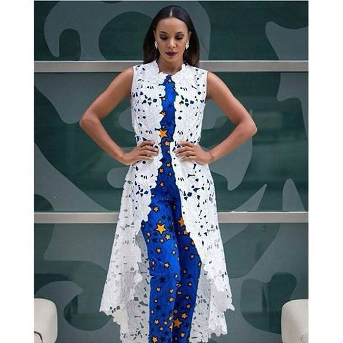 Latest ankara coat style 2018 (1)