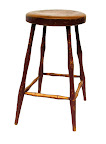 "29"" high stool with round seat"