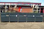 www.velota.nl/nieuws Horecaterras bij svHoofddorp definitief afgerond. Terras voorzien van hardglazen afscheiding tuinglas.