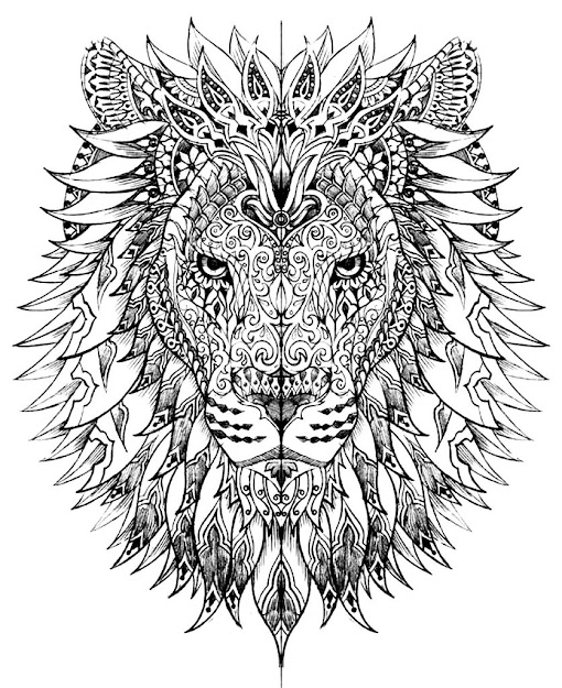 Printable Adult Coloring Pages That Will Make You Feel Like Kid Again