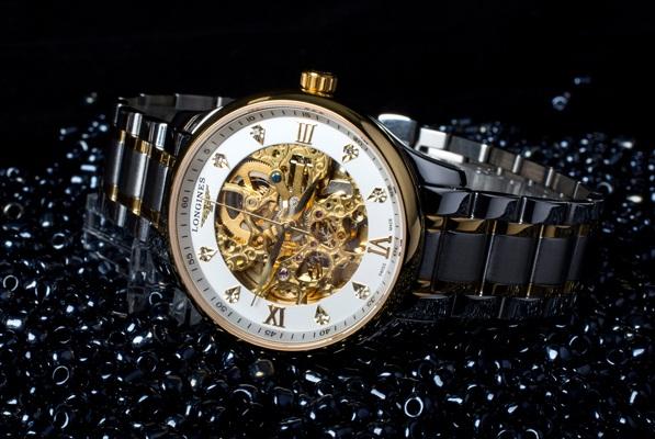 mua chung, Đồng hồ nam cao cấp Automatic Longines LO4.38