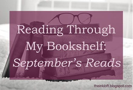 Reading Through My Bookshelf September