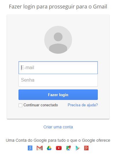 Blog de Geografia Fazer login Gmail gmail login entrar