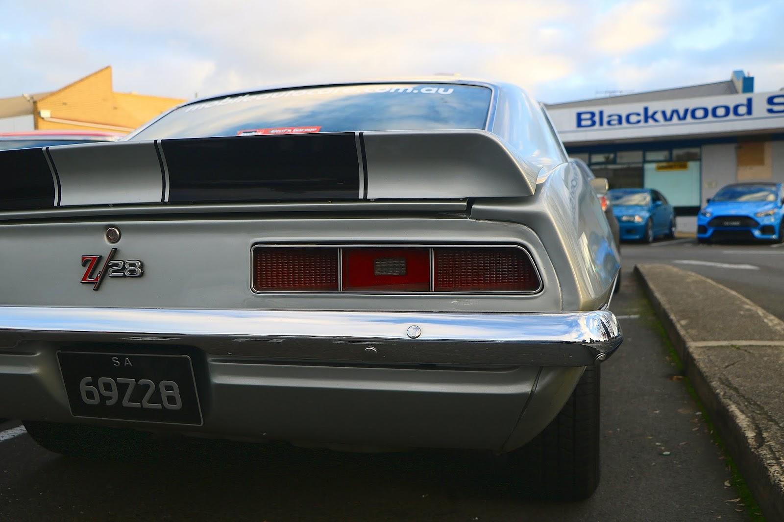 1969 Chevrolet Camaro Z28 Rear.jpg